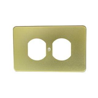 Placa de aluminio para contacto